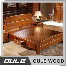 modern bed designs in wood. Latest Design Modern Bedroom Furniture Solid Wood Double Bed Designs In I