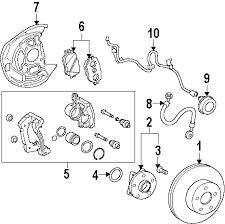 parts com® lexus front suspension brake components caliper gs 2006 lexus gs300 base v6 3 0 liter gas front brakes