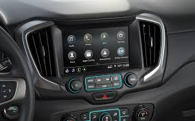 2018 gmc suv. brilliant gmc image showing the 8inch color touchscreen and center dashboard in 2018  gmc terrain intended gmc suv t