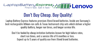 <b>Lenovo ThinkPad Batteries</b> and Wall Chargers