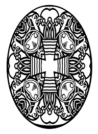 Grand Easter Egg Designs Coloring Pages Dreadeorg