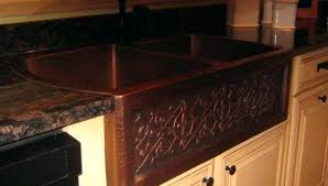 counter top hammered copper countertops