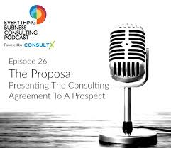 26 The Proposal Presenting The Consulting Proposal Agreement To A