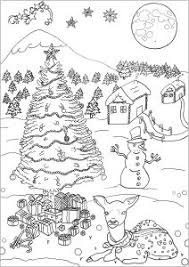 Best free coloring pages for kids & adults to print or color online as disney, frozen, alphabet and more printable coloring book. Christmas Coloring Pages For Adults