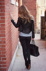 oh so glam the leather jacket