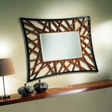Specchio moderno per camera da letto: soggiorno moderni con in