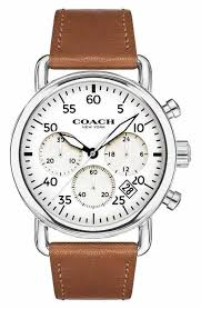 men s coach watches watches for men nordstrom coach delancey chronograph leather strap watch