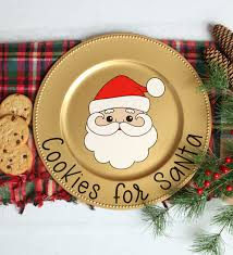 Merry xmas and happy holidays! Cookies For Santa Plate Free Christmas Svgs Happiness Is Homemade