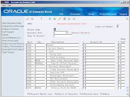 Set Up Alternate Chart Of Accounts And User Defined Codes