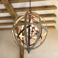 orb light fixture. Wooden Orb Light Wood Chandelier Fixture Rustic Dining Small