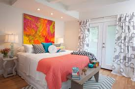 bedrooms coral bedroom ideas coral color bedroom ideas  cheery master bedroom with chevron rug and