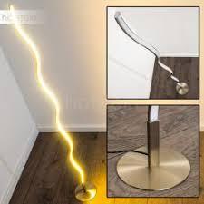 floor lighting led. Dillon Floor Lamp LED Matte Nickel, 1-light Source Lighting Led