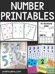 More than 5.000 printable coloring sheets. Large Numeral Printables And More Prekinders
