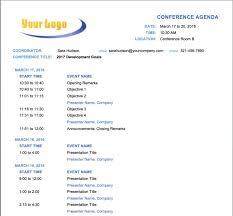 010 Free Meeting Agenda Template Microsoft Word Kairo