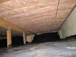 crawl space insulation. Unique Insulation Crawl Space Insulation Done Right On C
