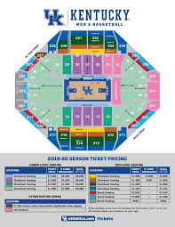 Rupp Arena Seating Chart Seat Numbers New Pricing For Uk Mens Basketball Tickets Announced Wuky