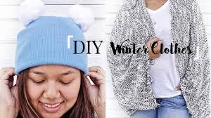 diy winter clothes no sew crystalcreateschic
