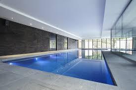 indoor pool lighting. Luxury Indoor Swimming Pool With Bespoke Lighting