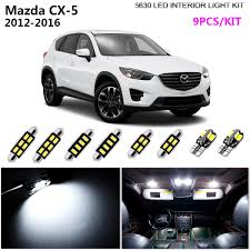 Mazda Cx 9 Dome Light Details About 9bulb Hid Super White 6000k Interior Dome Light Kit Led Fit 2012 2016 Mazda Cx 5