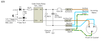 project 156 figure 3 ssr based 12v trigger circuit