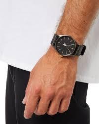 black mens accessories nixon watches a105 3106blk