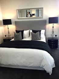 black and white bedroom decor bedroom chic black white and gray black white red bedroom images
