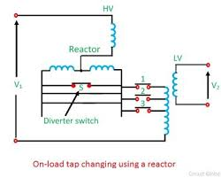 what are tap changing transformers? off load & on load transformer taps explained at Transformer Taps Diagram
