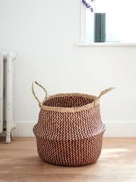 Aufbewahrung Badezimmer Holz Nbylme Korb