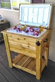 wood outdoor cooler ice chest cooler box western red cedar weatherproof hardware wooden chest cooler outdoor wood outdoor cooler
