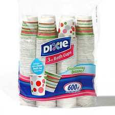 dixie bathroom paper cup dispenser. dixie cold drink poly lined paper bath cup 3 oz - 600 cups disposable bathroom dispenser