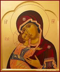 Icône de la Vierge de tendresse (Mère de Dieu de Vladimir)