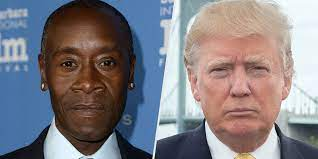 Don Cheadle Accuses Trump of Once Using ...