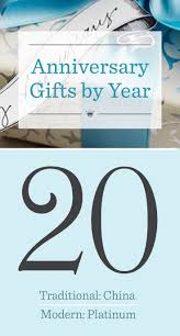 20th wedding anniversary gifts looking for twentieth anniversary gift ideas check the list of traditional and modern anniversary gifts by year from