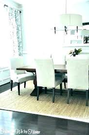 area rug under round dining table for size room sizes ima