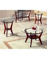 Steve Silver Saxony Coffee Table Set