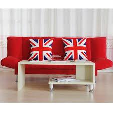 union jack england pillow case cushion cover sofa chair office car