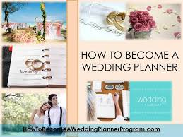 Wedding Planner Ppt How To Become A Wedding Planner Authorstream
