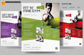 20 fitness flyer template psd for fitness center gym and health well layered fitness flyer template