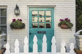 turquoise front door14 Front Door Color Ideas and Their Meanings  Procom Blog
