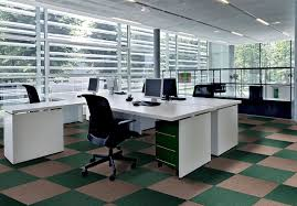 Modern carpet floor Grey Furniture Green And Brown Checkerboard Carpet Tiles Pattern For Modern Office Interior Design With White Office Elleroberts Flooring Ideas Modern Carpet Tiles Pattern For Basement Combined