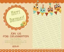happy birthday invitation for a ening birthday invitation with ening layout new best birthday invitation