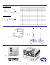 Benq W1070 W1070 Data Sheet Page 2