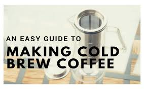 Coffee Ratio Chart An Easy Guide To Making Cold Brew Coffee I Need Coffee