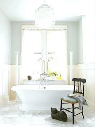 chandeliers chandelier over bathtub tub lovely ideas amp test modern lamp light filled bathroom with