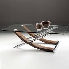 tusk rectangular glass coffee table casa
