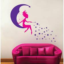 fairy moon stars moon sprite wall art