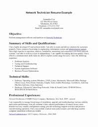 Network Technician Resume Examples Job Descriptionplate 16 ...