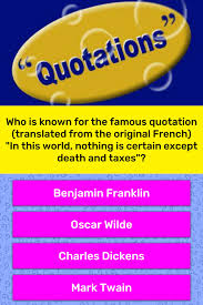 Who Is Known For The Famous Trivia Answers Quizzclub