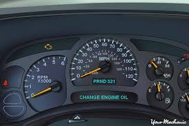 Understanding the GMC Oil Life System and Service Indicator Lights ...
