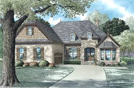 153 1955 the plan collection front elevation of european country style house 153 1955